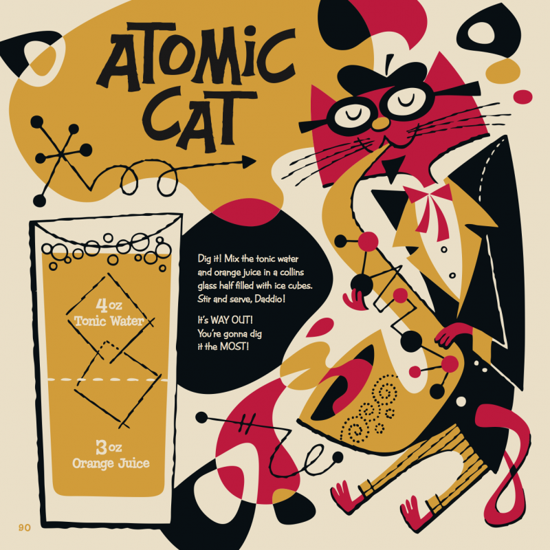 Atomic Cat Kiddie Cocktail Recipe