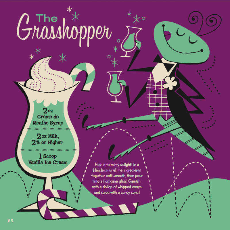 Grasshopper Kiddie Cocktail Recipe