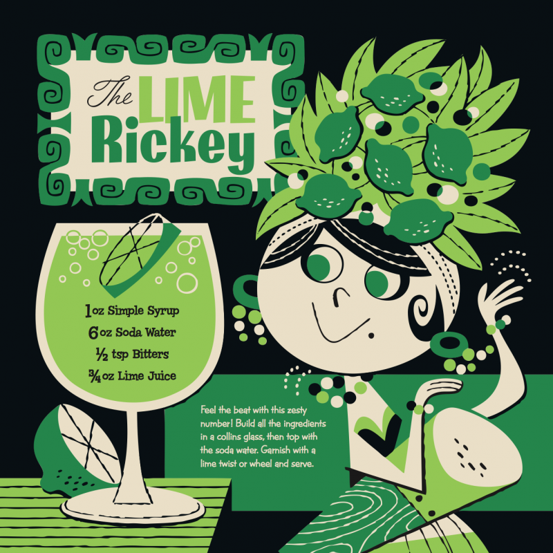 Lime Rickey Kiddie Cocktail Recipe