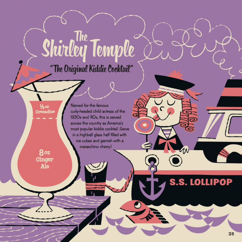Shirley Temple Kiddie Cocktail Recipe