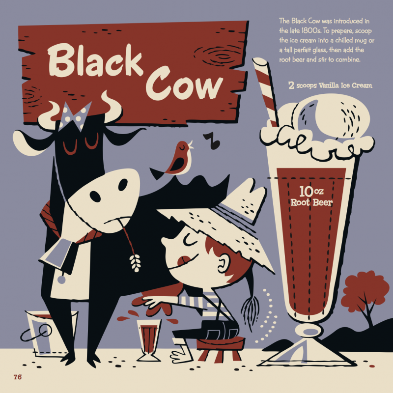 Black Cow Kiddie Cocktail Recipe